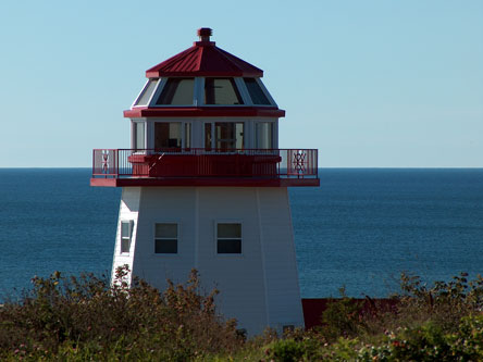 octagonal lighthouse replica